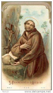 04 octobre : St François d'Assise; XXVI semaine du T.O.