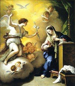 25 mars: Solennité de l'Annonciation du Seigneur; V semaine de Careme