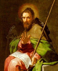 25 juillet : St Jacques le Majeur, apôtre et martyr; XVI semaine du T.O.