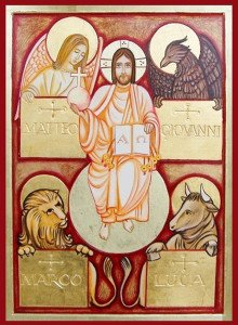 imm en e fr quattro evangelisti gesù alfa e omega - Copia