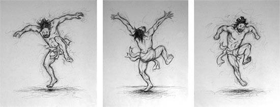 imm fr David dansant près de l'arche