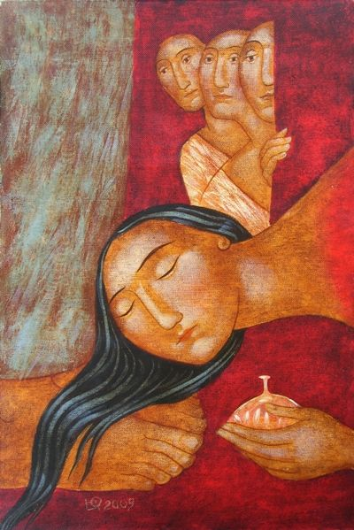 imm fr The Unction of Christ by Julia Stankova