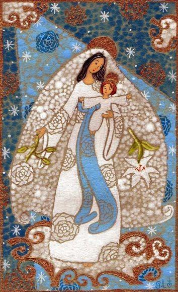 fr en La Vierge et l'enfant