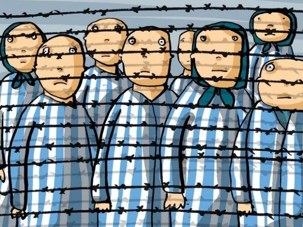fr giornata_della_memoria_pistoia disegni dei bambini ebrei internati di Theresienstadt - Copia