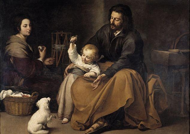 fr murillo la sacra famiglia