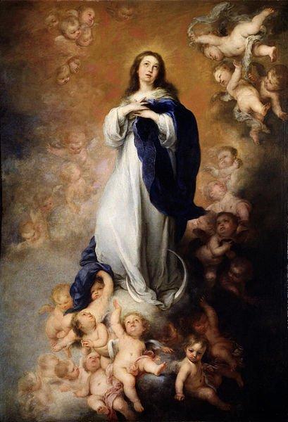 409px-Murillo_-_Inmaculada_Concepción_de_los_Venerables_o_de_Soult_(Museo_del_Prado,_1678)